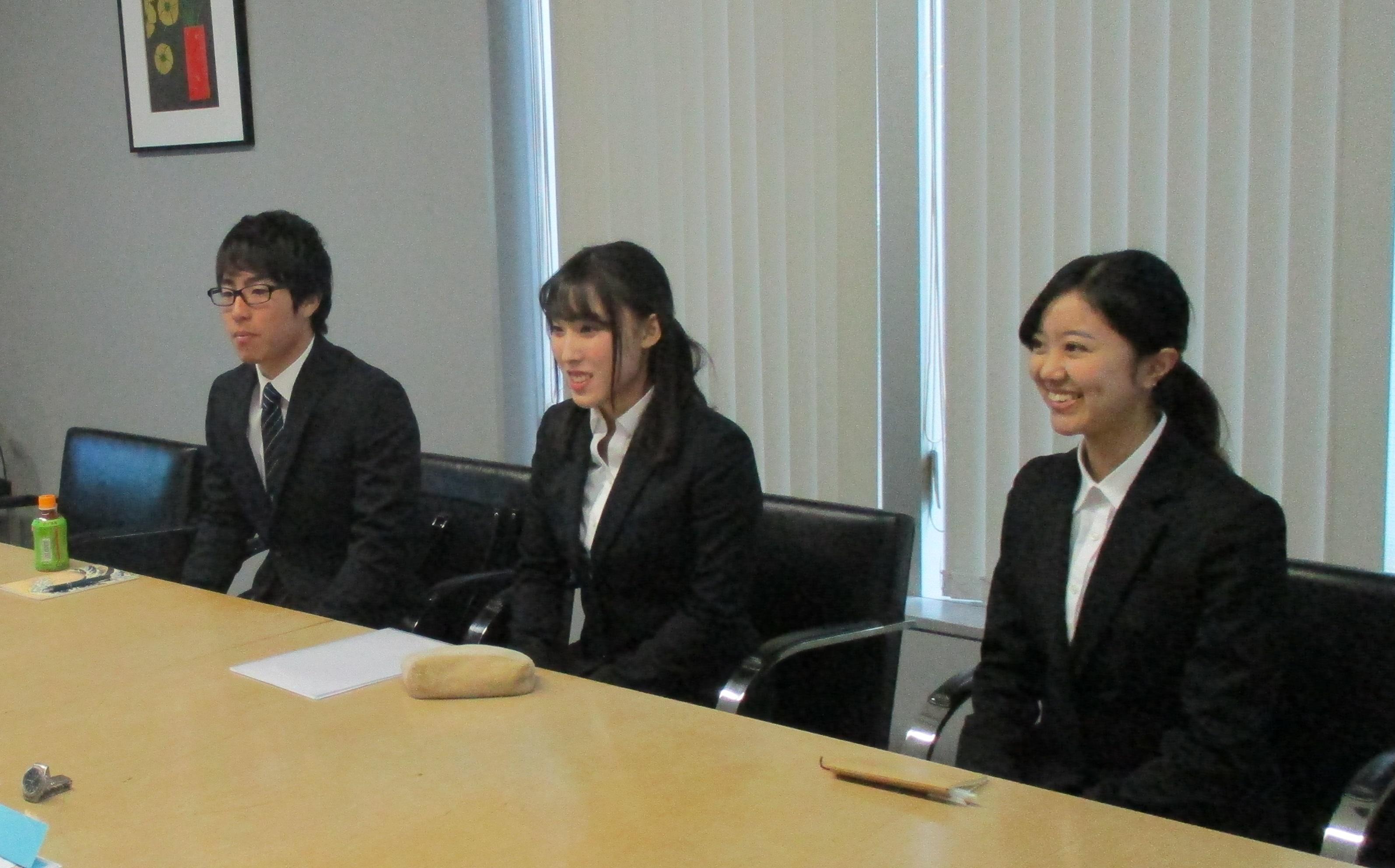 研修を受ける2018年度KIKUKAWAの新入社員