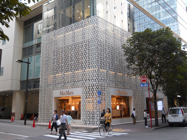 Ginza Max Mara Store, Renovation