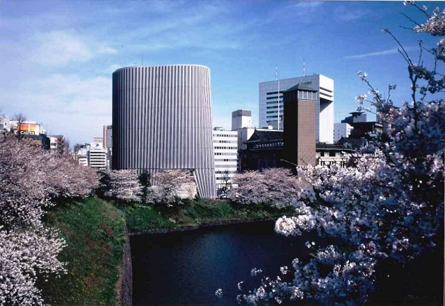 National Showa Memorial Museum from the Ushigafuchi side