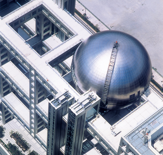 Fuji TV, Spherical Observation Room | Project Gallery