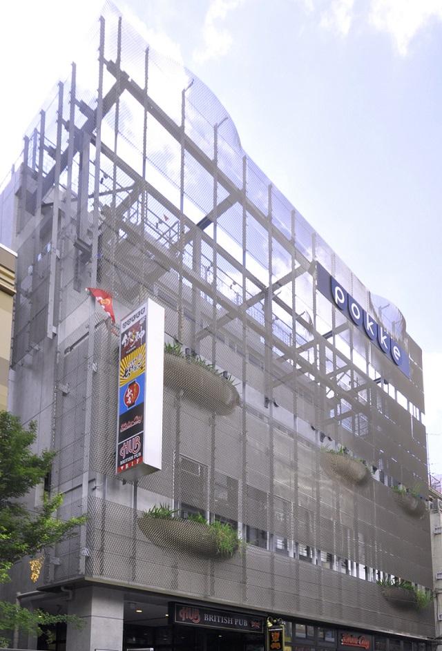 POKKE Ueno KS Building Facade
