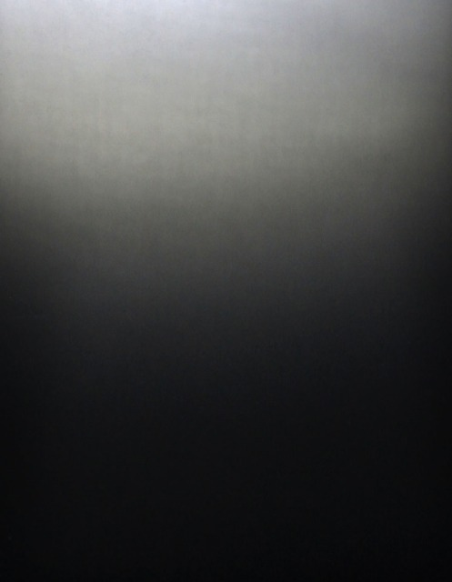 Sample of 'piano black' steel, from Kikukawa's steel finish sample book
