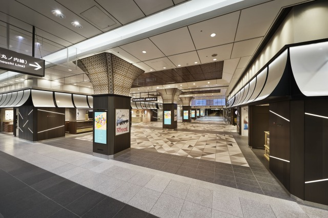 700 series Bullet Train was upcycled into the interior decorations of Tokyo Gift Palette