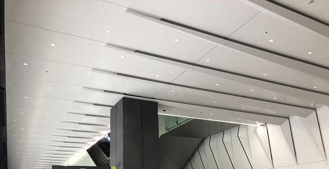 The folded panels satisfy both the air-intake duct functionality and design