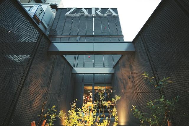 ZARA新宿南口店:3F屋上庭園