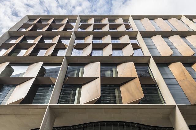 Bloomberg European headquarters:Fin