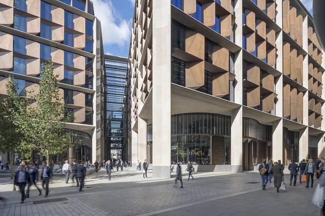 Bloomberg European headquarters:低層部
