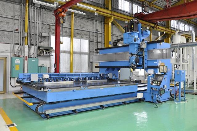菊川所有の大型摩擦撹拌接合(FSW)装置