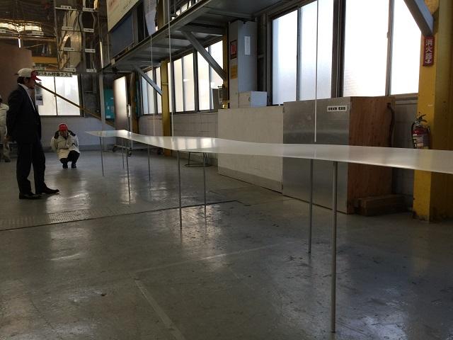KIKUKAWAの千葉にある工場にて行われた製品検査