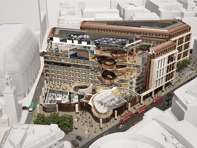 ブルームバーグ新欧州本社ビルの構造