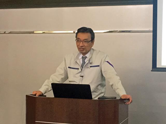 菊川で開催された2019年度決算報告会