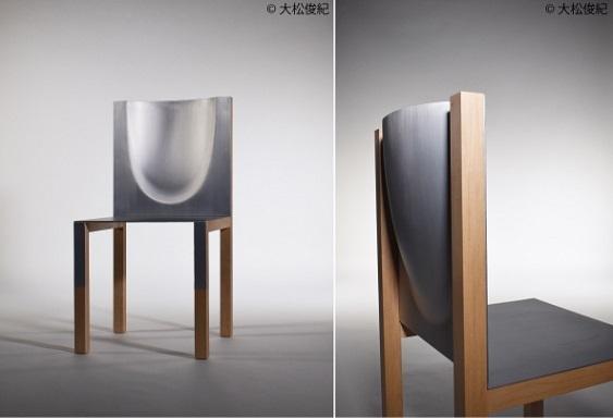 「インクリメンタル・フォーミング」で製作した椅子
