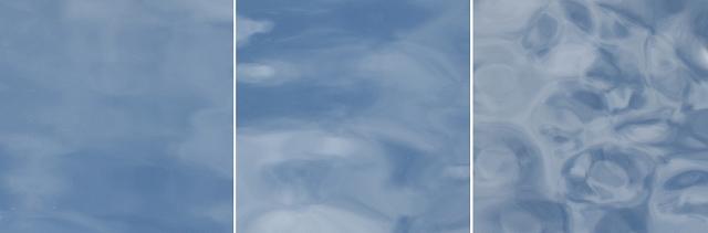 外部で空を映した状態で撮影